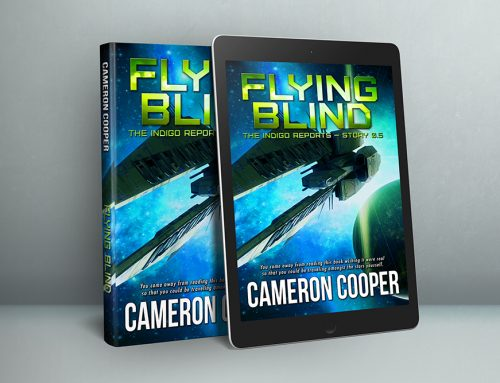 And FLYING BLIND is now available!
